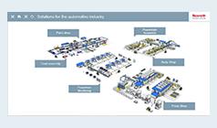 Automotive production animation