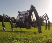 Bosch Rexroth Gives Some Legs to Walking Robot
