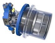 HYDROTRAC GFT series 8000 offers increased torque and compact design thanks to higher flexibility