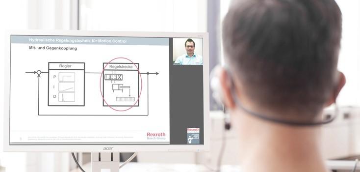 eTraining at Bosch Rexroth AG