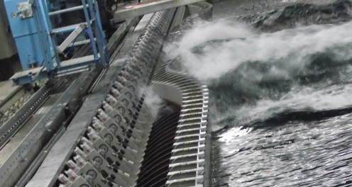 Water wave generator
