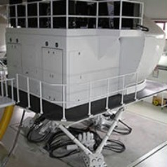 Motion Simulation Technology flight simulation