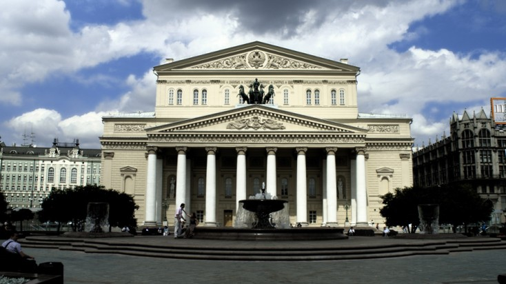 Bolshoi theatre stage technology from Bosch Rexroth